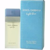 Dolce Gabbana Light Blue Feminino Eau De Toilette 100ml -12x