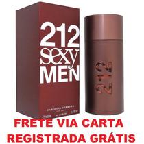 Ch 212 Sexy Men Decant Amostra 2,5ml Original Frete Grátis*