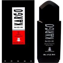 Perfume Kargo Noir Masculino Eau De Toilette 100ml Via Paris