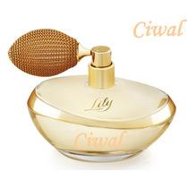 Perfume Boticario Lily Eau De Parfum, 75ml Original Lacrado