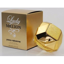 Lady Million 80ml - 100% Original E Lacrado - Importado A060