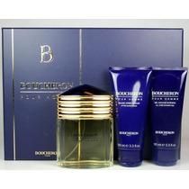 Kit Perfume Boucheron Pour Homme 100ml Edp Original Lacrado