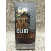 212 Vip Men Club Edition -100ml- Edt- Perfume Lançamento Usa