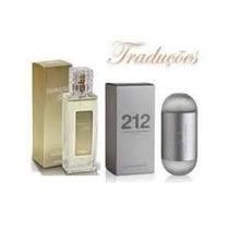 Perfume Hinode Traduções Gold 12 - 212 Carolina Herrera