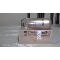 Perfume 212 Vip Rose Feminino Carolina Herrera 80ml Edp