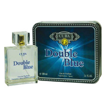 Perfume Double Blue 100 Ml Edp Cuba Paris Frete Gratis
