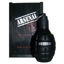 Perfume Masculino Arsenal Black 100ml - 100% Original