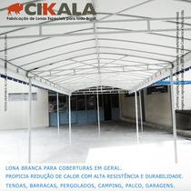 Lona Bloqueio Sol Cobertura Barracas Telha Telhados 3,5x3,5