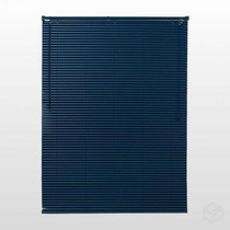 Persiana Horizontal Pvc 25mm Cortina 140 X 163 Cm Azul