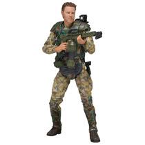 Boneco Aliens Serie 2 Sergeant Craig Windrix Neca Filme Dvd