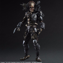 Predador Play Arts Kai Action Figure Square Enix Filme Dvd