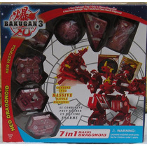 Bakugan Battle Brawlers New Vestroia Maxus Dragonoid 7 Em 1