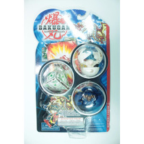3 Bakugan Battle Brawlers + Card Metal - Kit_03