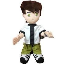 Boneco Ben10 Musical Sonoro Canta Dança 40cm Cartoon Network