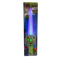 Espada Do Ben10 * Alien Force * Emite Som E Luz C/ 37 Cm
