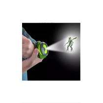 Relógio Ben 10 Omnitrix Lluminator Bandai Fora Da Caixa Novo