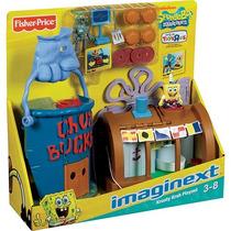 Imaginext Bob Esponja Siri Cascudo Fisher-price - Mattel