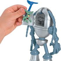 Imaginext Bob Esponja Figuras Plankton & Chumbot - Mattel