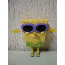 Brinquedo Miniatura Bob Esponja Viacom Mc Donalds