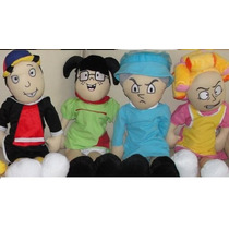 Turma Do Chaves - Kit Com 10 Bonecos De 50 Cm