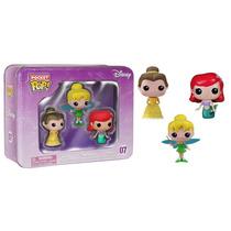 Pop Pocket Tins Princesas Ariel Tinker Bell Bela Disney Funk
