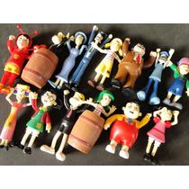 14 Bonecos Coleção Turma Chaves Aticulados