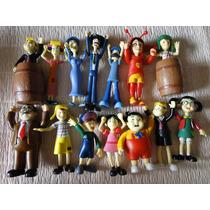 Show !!!!!! 14 Bonecos Coleção Chaves Aticulados