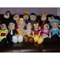 Bonecos Chaves E Sua Turma (12 Personagens) Coleção Completa