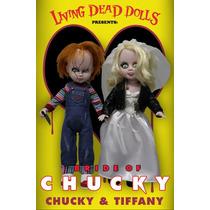 Chucky E Tiffany - Living Dead Dolls - Chucky E Sua Noiva