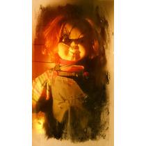 Boneco Chucky 70 Cm Completo Original Corpo Em Tecido.