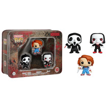 Pop Pocket Horror Chucky Ghost Face Billy Vinil Funko