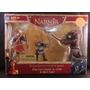 Cronicas De Narnia King Peter Vs Otmin & Black Dwarf Hasbro