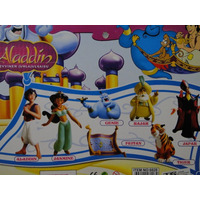 07 Bonecos Aladdin Jasmine Rajah Genio Jafar Tapete Tigre