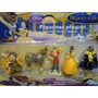 05 Bonecos Bela E A Fera Disney Beauty And The Beast