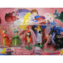 05 Bonecos Bela Adormecida Disney Sleeping Beauty Playset