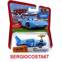 Disney Cars The King Rei Piston Cup Com Trofeu Copa Pistao