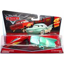 Disney Cars 1 - Pit Crew Member Flo E Lightning Ramone