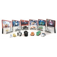 Disney Cars Star Wars Mater Vader Mcqueen Luke Sally Leia