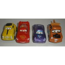 Carrinhos Miniatura Disney Cars Fricção Brinquedo Lote Com 4