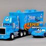 Caminhão Mack Azul Carreta Dinoco Filme Carros