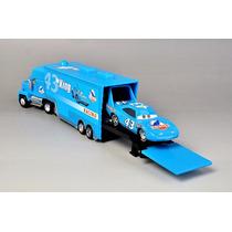 Carreta Mack Filme Carros Caminhão Miniatura Azul + Carro