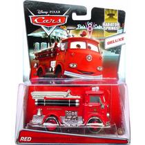 Red Disney Cars Deluxe Ruivo Bombeiro Original Mattel