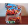 Disney Pixar Cars Lightning Mcqueen With Cone Da Mattel