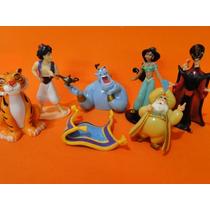 Coleção Playset Aladdin Disney Com 07 Bonecos