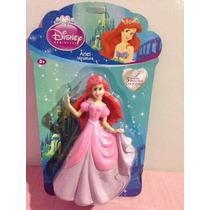 Boneca Princesa Ariel Pequena Sereia Disney Topo De Bolo