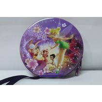 Porta Cd Fadas Disney Tinker Bell De Lata Em Otimo Estado