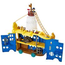 Jake E Os Piratas Da Terra Do Nunca - Navio Colosso Poderoso