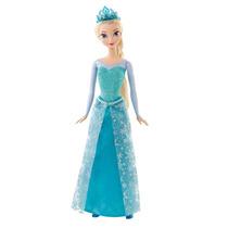 Boneca Princesa Elsa Brilhante Disney Frozen Mattel
