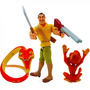 Boneco Série Tarzan Disney Cleiton Acessórios Cobra Macaco