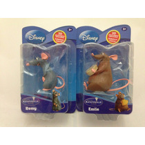 Miniaturas Ratatouille Ratos Disney: Remy + Emile - Yellow